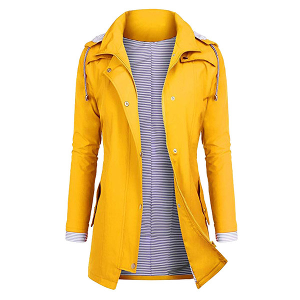 2019 Waterproof Outdoor Women Plus Size Hiking Jackets Rain Jackets Hooded Raincoat Windproof Camping Overcoat For Fall From Johiny, $30.7 |