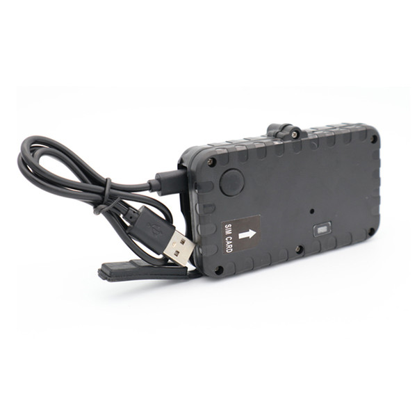 New! vehicle GPS tracker long battery life 450-days, waterproof level IPX7 and free software open Car Tracking T12