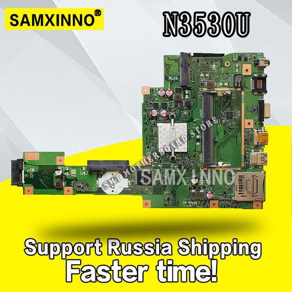 X553MA Motherboard REV2.0 N3530 / 3540cpu Für ASUS A553M X503M F553M Laptop Motherboard X553MA Mainboard