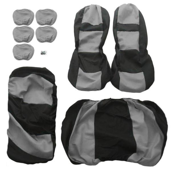 9 Pcs/Set Four Seasons Universal Car Seat Cushions Automobiles Car Seat Covers Car Headrest Covers