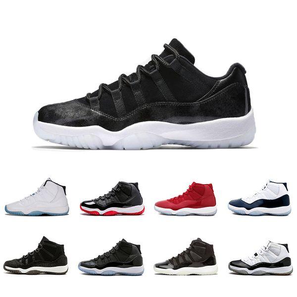 Großhandel Nike AIR Jordan 11 2019 11 11s 11s Basketballschuhe Für Herren Concord 45 Platinfarbe Space Jam Gym Red Win Like 96 XI Designer Sneakers