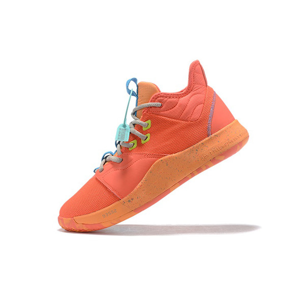 Mens paul george basketball shoes for sale Orange Yellow Easters Christmas BHM boys aj retro lebron 16 sneakers tennis with box size 7 12