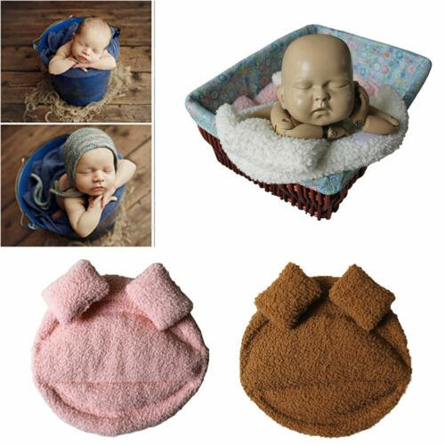 New Solid Cute Baby Kids Wool Fringe Cheesecloth Wrap Photo Prop Backdrop Blanket Photography