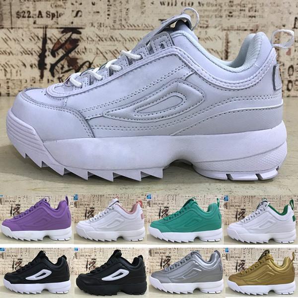 Fila Chaussures Bases Épais Casual Sneaker Shoes 2 Acheter Femmes Designer Disruptors Scie Hommes Fond Marche Women Men 2019 En Dents De Plateforme CxBoQreWd