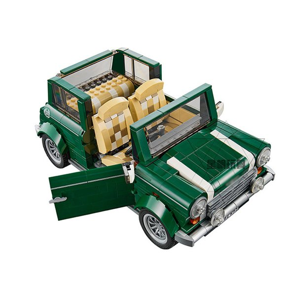 Popular style 21002 science and technology series retro mini car puzzle jigsaw block toy wholesale