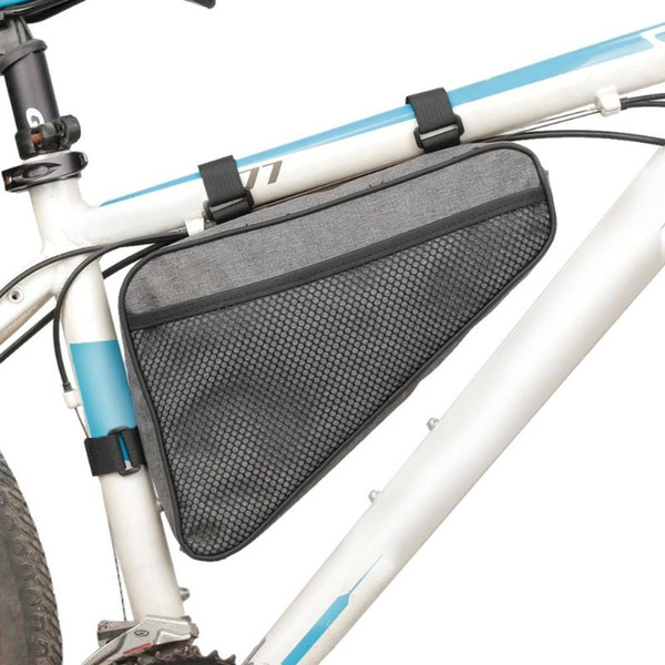 Waterproof Cycling Bike Bicycle Triangle Frame Front Bag Saddle Panniers Packs
