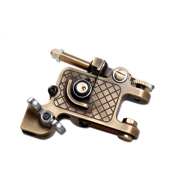 Dragonhawk Tattoo Rotary Machine Brass Frame CNC Machine Professional Rotary Motor Gun Stable Machine for Artist