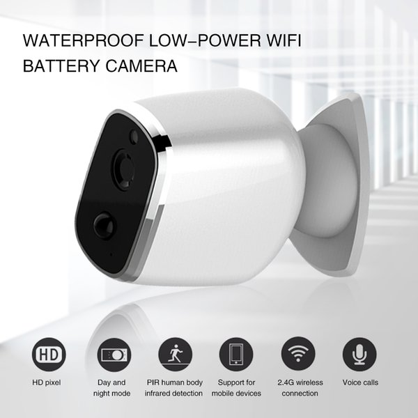 Home Security Surveillance Camera Wireless Intelligent PIR Wifi Audio Baby Monitor IP Camera Waterproof TF card