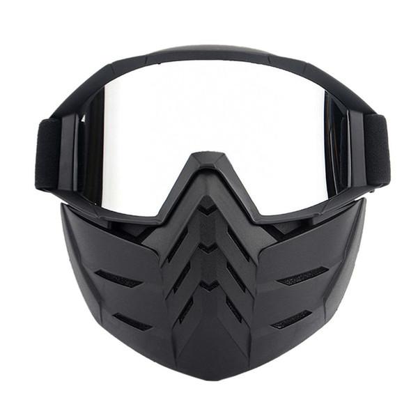 Bici Occhiali da moto Occhiali protettivi Occhiali da viaggio, da esterno, ecc. Maschera da equitazione Maschera Sci per tutte le stagioni
