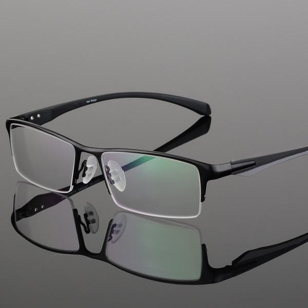 Brand Design Titanium Alloy Eyeglass Male Myopia Glasses Spectacle Frames For Men C19042001