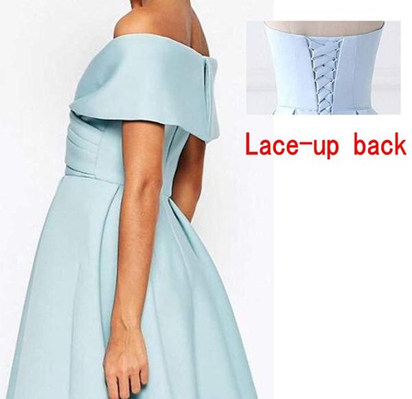 Lace up Chiusura posteriore