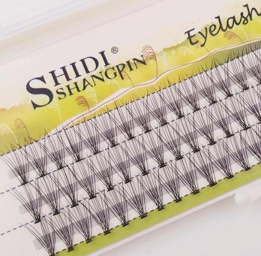3d Lashes 60 Pcs/set 8/10/12 Mm Individual False Eyelash 2019 Natural Long Eye Lashes Extension Thick Makeup Tools