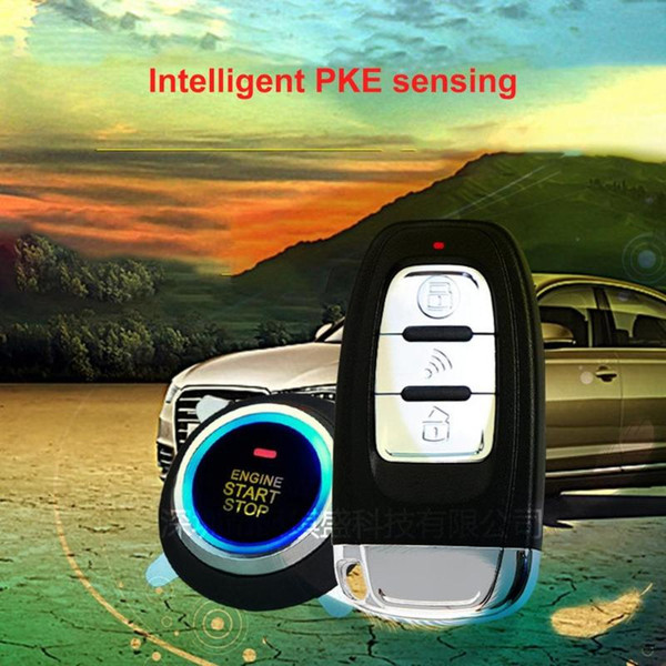 best selling PKE Car Alarm System With Keyless Entry Remote Engine Start For DC 12V Cars