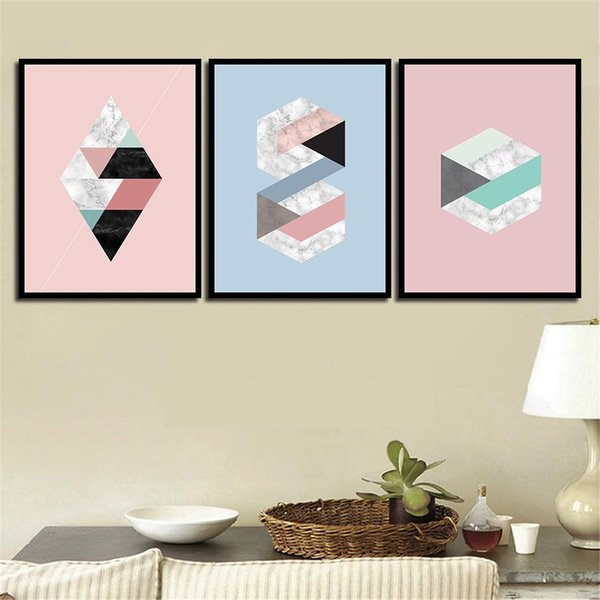 Nordic Style Minimalist Poster Modern Canvas Abstract Graphics Art HD Print Painting Wall Pictures For Home Wedding Decoration