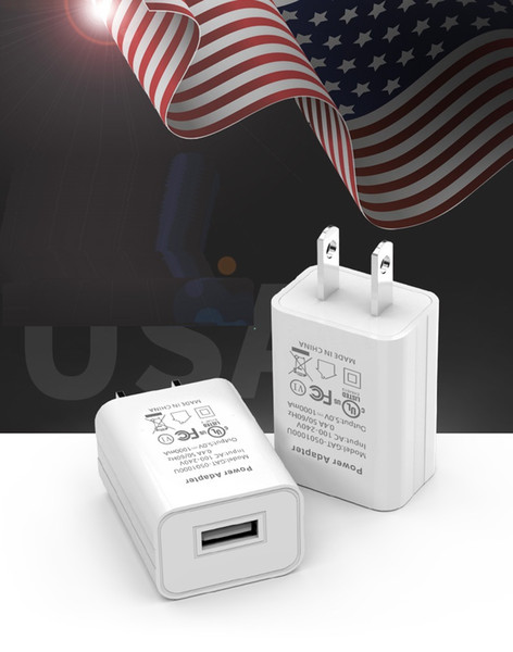 """top popular 5V 1A AC USB Wall Charger Travel Adapter for USB Electric 4"""" Metal Head Fan 2021"""