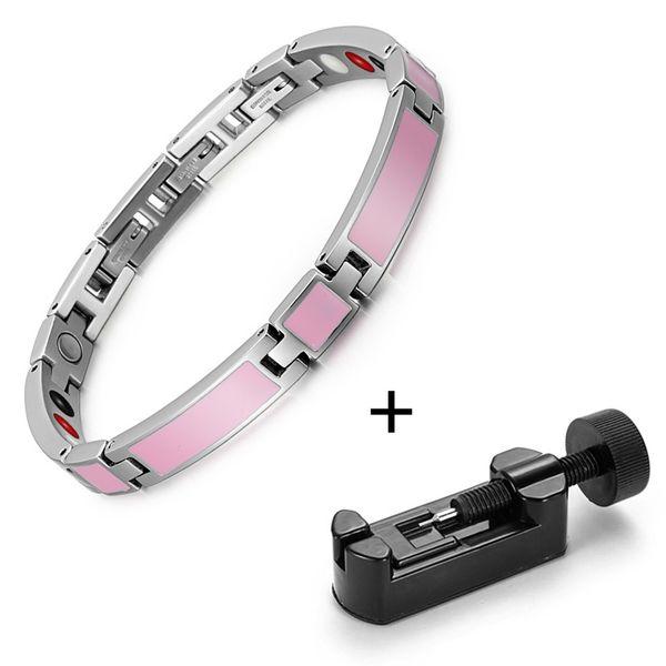 Pink bracelet tool
