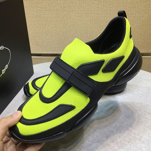 Menşe Kutusu ile spor Erkek Ayakkabı Satış Hızlı Teslimat Nefes Artı Boyutu Cloudbust Sneakers Kanca Döngü Ayakkabı Zapatos de moda para hombre