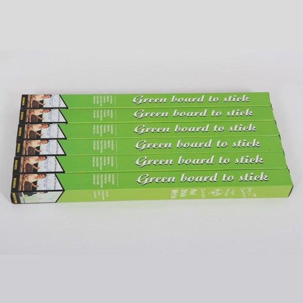 الأخضر (1 * السبورة ملصق + 5 * الطباشير)