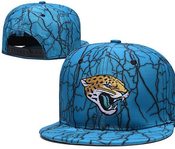2020 Высочайшее качество Дешевые шапки Snapback Взрослый классический Письмо кости Футбольная кепка Салют для обслуживания Jacksonville Hats JAX Baseball CaP 02