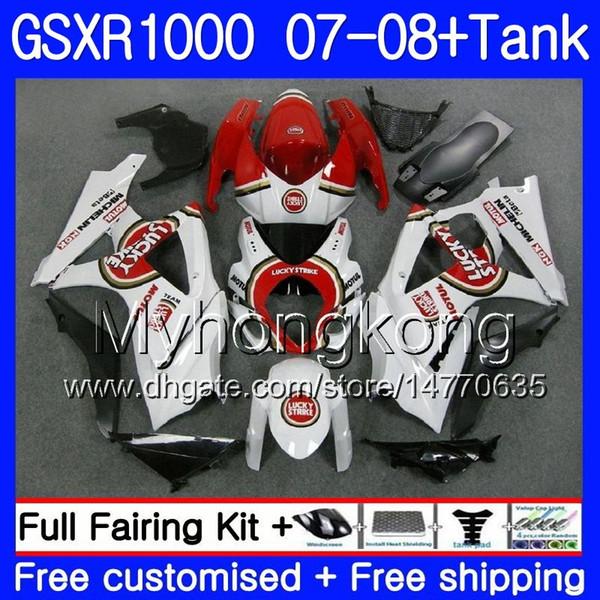 Unpainted ABS Fairing Bodywork Set For Suzuki GSX-R GSXR 1000 2007-2008 07 08