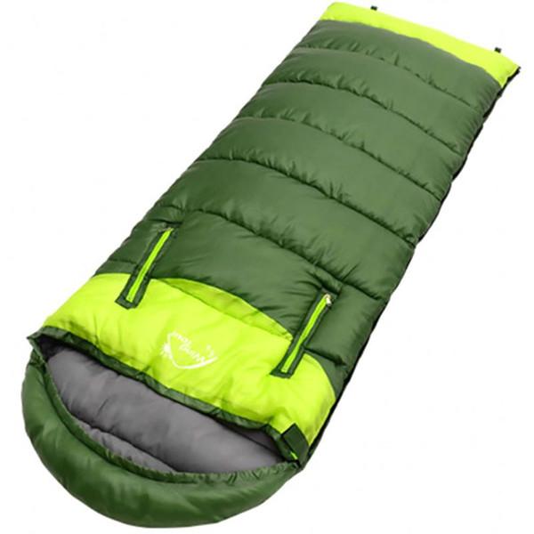PortableSplicing Sacco a pelo Tipo di busta Leggera cerniera termica a prova di umidità Accessori da viaggio per campeggio all'aperto *