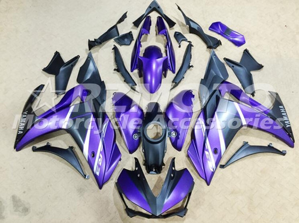 Hot sales New ABS Motorcycle Fairing Kit For YAMAHA R3 R25 2014 2015 2016 2017 2018 2019fairing motorcycle parts Custom Purple
