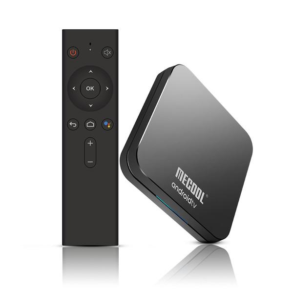 Latest Android 9.0 TV BOX KM9 ATV Amlogic S905X2 Quad-core 4GB/32GB 4K H.265 2.4G/5GWIFI&BT4.0 smart set top box