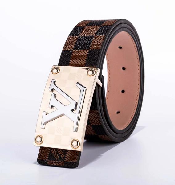 2019 Les concepteurs masculins de ceintures de boucle lisses ont pris cingulate ceintures de chasteté masculine pour les hommes à la mode hommes ceintures en gros livraison gratuite