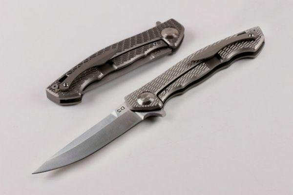 Le plus nouveau système de roulement de palonnier Shirogorov pliant le couteau de survie D2 58-60HRC à lames tactiques de lame de couteau 2 styles d'utilitaires EDC P314Q R