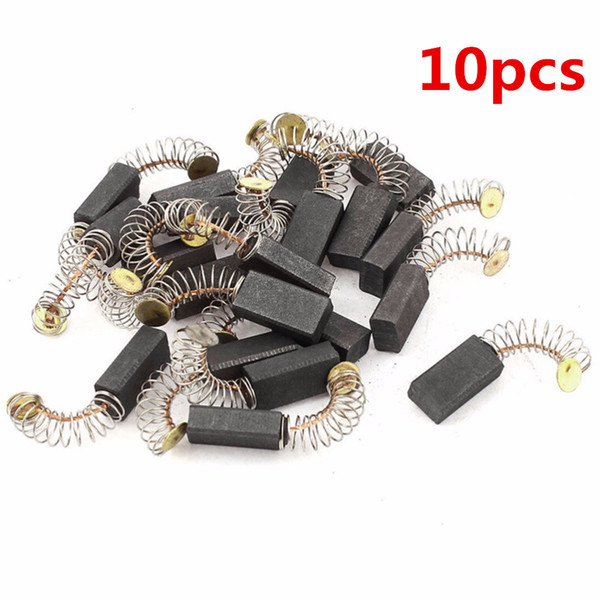 Tools 10Pcs Hot Selling Mini Carbon Brushes Spare Parts Drill Electric Grinder Replacement For Electric Motors Rotary Tool 4Styles