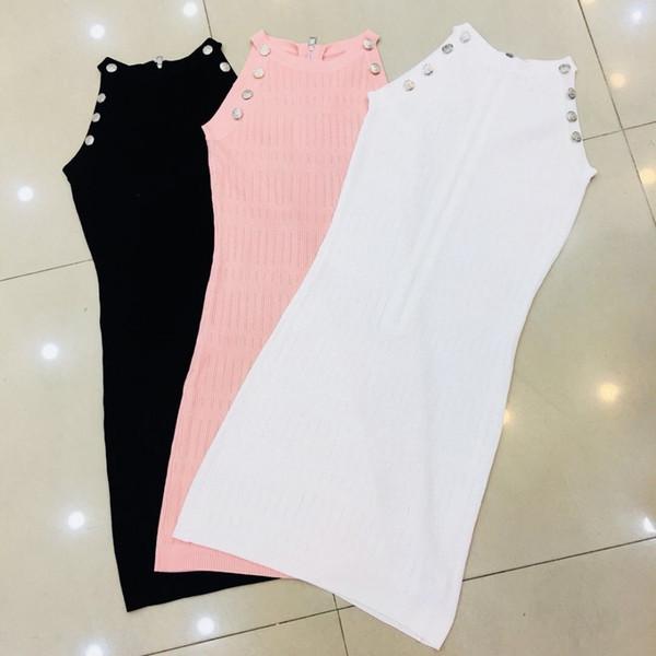 Dame Rock Kleid Damen Kleid Frauen Exblosion Trend Mode lässig wild simble Zib Kleid Kleider Frau clothesb
