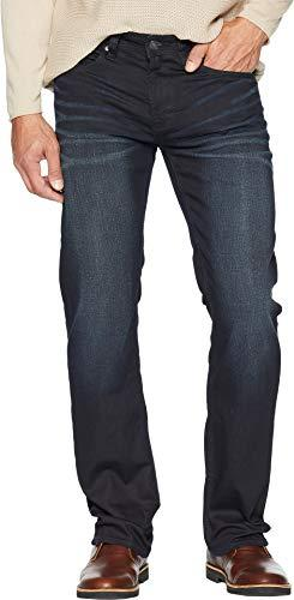 Buffalo David Bitton Mens Six-X Slim Straight Jeans in Coated and Sandblasted