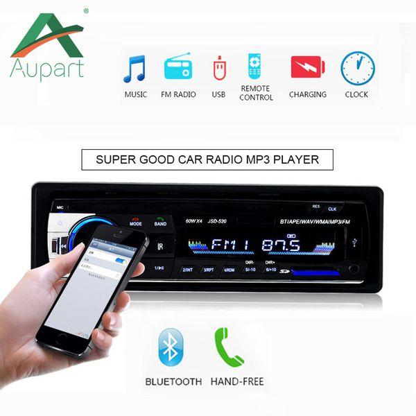 Autoradio 1 DIN Stereo 12V Bluetooth V2.0 Car Audio In-dash 1 Din FM Aux ingresso del ricevitore USB SD MMC MP3 WMA autoradio lettore