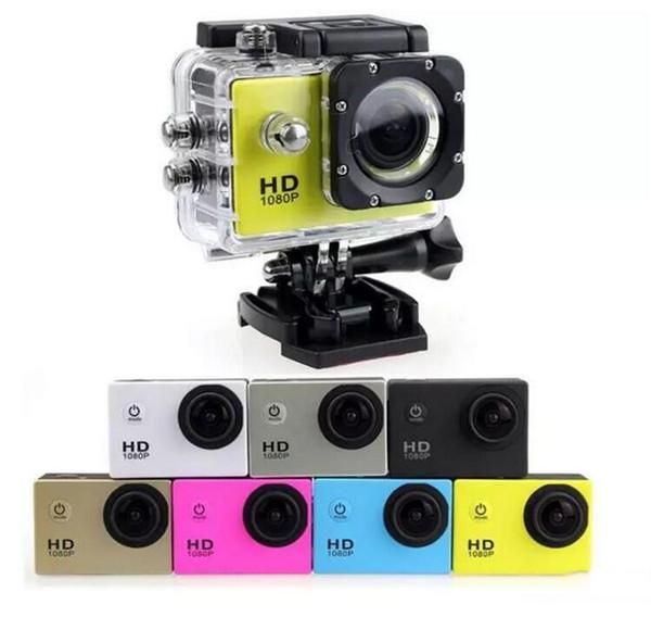 Caméra vidéo d'action étanche à bas prix SJ4000 1080p Full HD numérique caméras de sport sous 30M DV enregistrement Mini Sking Vélo Photo Vidéo Cam