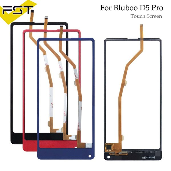 For Bluboo D5 Pro Touch Panel Touch Screen Digitizer Replacement For D5 Pro Glass Sensor With Tools+Adhesive