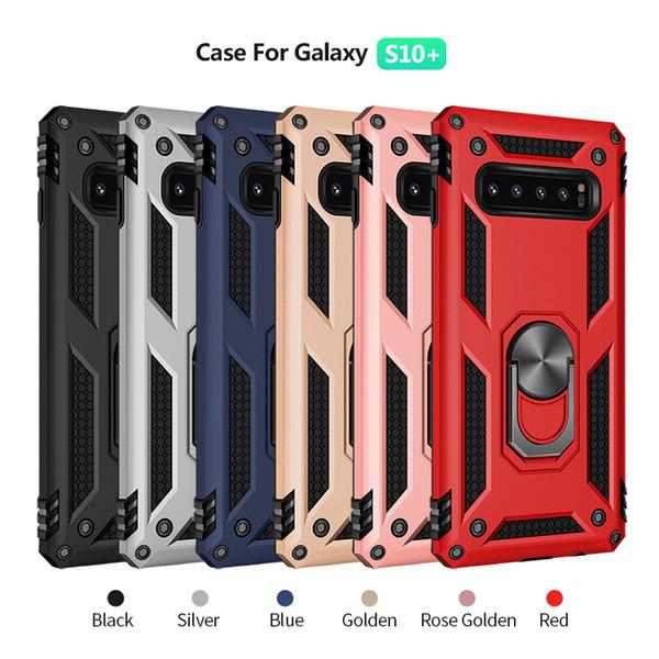 Magnetische Autohalterung Handy Fall für Samsung Galaxy A10E A10 A20E A2 Core A90 für LG Stylo 5 K40 Kickstand Cover D