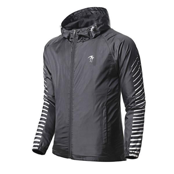 Men//Women Sports Waterproof Windbreaker Breathable Zipper Running Riding Jacket Coat