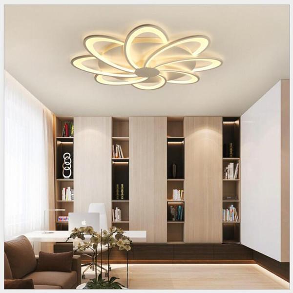 Acrylic Modern Led ceiling Chandelier lights classic For Living Room Bedroom Home Dec lampara de techo led moderna Fixture