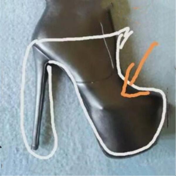 Zapatos SHOFOO, envío gratis de moda elegante, zapatos de tacón alto de 18 cm, zapatos de tacón abierto para mujer. TAMAÑO: 34-45
