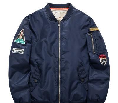 Automne et coton sport hommes hiver et loisirs stand-up veste design cols des manteaux d'hiver Air Force One MA01 d'uniforme de base-ball pilote