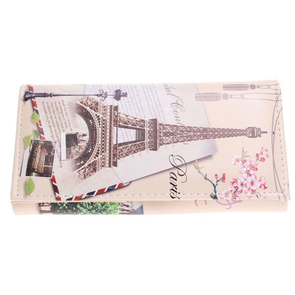 8 Styles Fashion Womens Wallet Brand Design Long Purse Graffiti Printing Clutch Wallets Card Holder Pu Leather Coin Money Bags