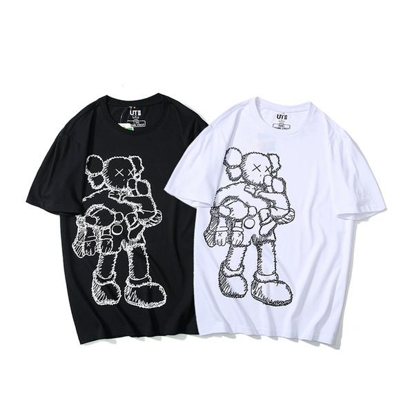 2019 Seiko версия обманывают стерео мультфильм с короткими рукавами футболки оптом