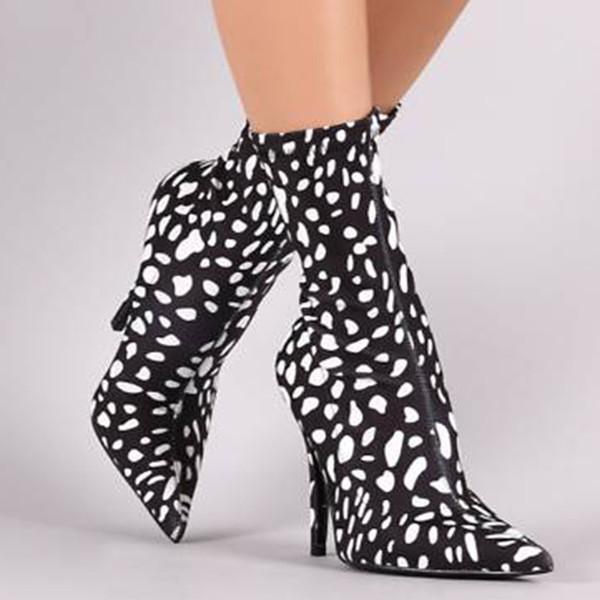 stivali calza donna scarpe tacco stivali alti alla coscia elasticizzati autunno donna tacchi alti donne sexy # G2