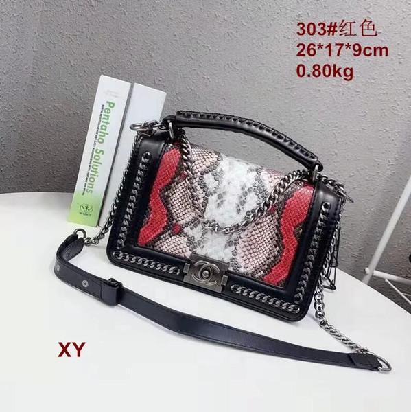 Deri istiridye eğik omuz çantası yepyeni kadın moda lüks kaliteli marka son zincir ücretsiz kargo 40156-12