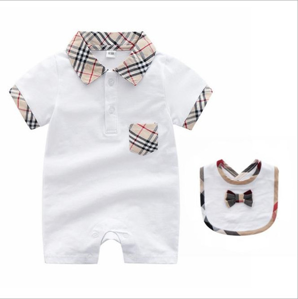 2020Hot baby rompers Summer New Style Short Sleeved Girls Dress Baby Romper Cotton Newborn Body Suit Baby Pajama Boys clothes Animal Rompers
