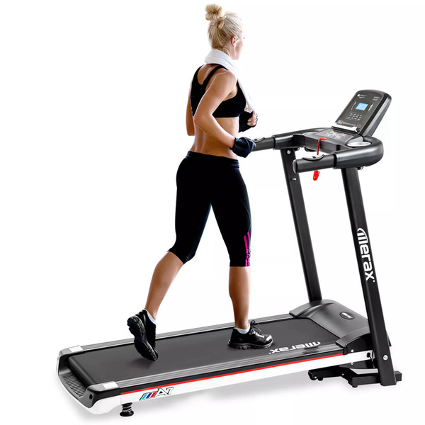 best selling Merax A7 Folding Electric Treadmill Motorized Power Indoor Running Fitness Sports Machine