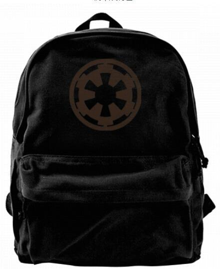 Galactic Symbol For The Empire Fashion Canvas designer backpack For Men & Women Teens College Travel Daypack Leisure bag Black
