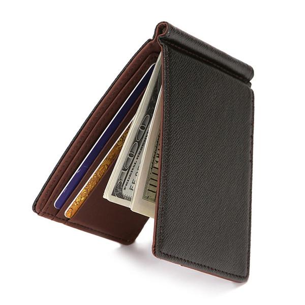 Kredi Kartları için cüzdan Erkek Cüzdan Deri Hakiki Yüksek Kaliteli Cüzdan ile Kart Sahibinin Para Klip 2017 Yeni erkek Çanta Küçük Vallet
