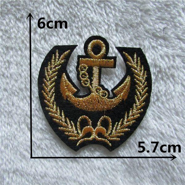 Cheap Wholesale patches stripes 1PCS Badge Clothing accessories Embroidery Applique Decoration Accessories Hotfix C147
