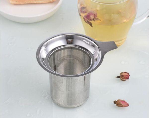 Venda quente De Malha De Arame De Malha De Aço Inoxidável Filtro Reutilizável Folha De Chá Solto Filtro DHL FEDEX Livre